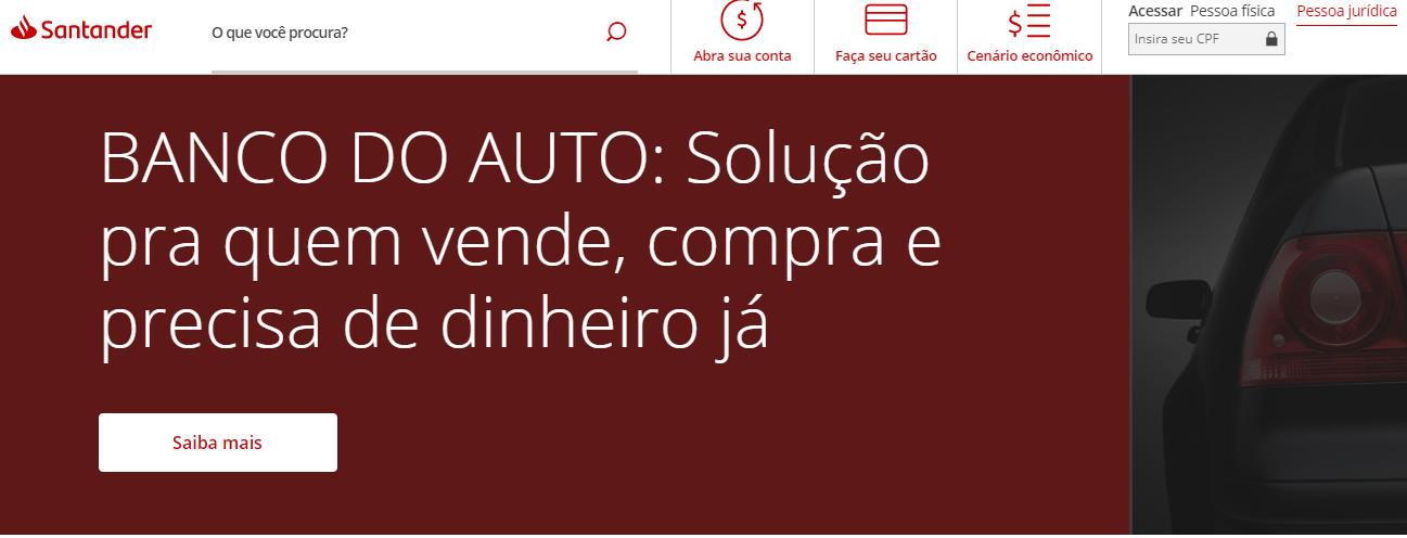 Como Parcelar a Fatura do Cartão Santander Online