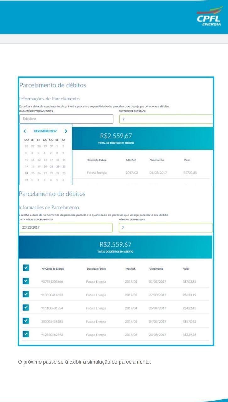Como Fazer Parcelamento CPFL Online